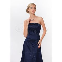 Simple Yet Elegant Full Length Strapless Evening Midnight Blue,Red Dress Colour Swatches, Strapless Dress Formal, Formal Dresses, Types Of Dresses, Midnight Blue, Dress For You, Evening Dresses, Fashion Dresses, Elegant