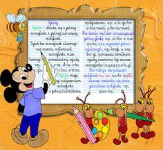 Ilustracje, źródło: Internet. Montessori, Hand Lettering, Kindergarten, Language, Family Guy, Education, Comics, Children, School