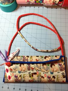 One Direction Duck Tape purse