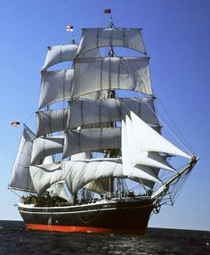 Happy 150 birthday to Star of India. Oldest sailing ship still in service.