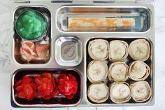 Southern Mom Loves: Fun School Lunchbox: Banana Sushi, Applesauce Wasabi, &…