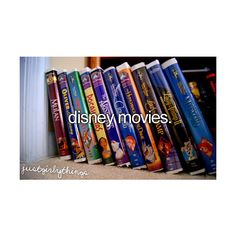 just girly things   ❤ not just disney movies, the classics!