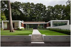 Modern Garden Style Landscape design by Gunn Landscape Architecture Contemporary Landscape, Contemporary Architecture, Landscape Design, Architecture Design, Landscape Architecture, Contemporary Houses, Green Architecture, Contemporary Design, Garden Design