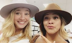 When Rodriguez and her TV nemesis, Yael Grobglas (Petra), hung out as FRIENDS in real life.