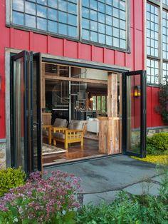accordion-doors-red-exterior