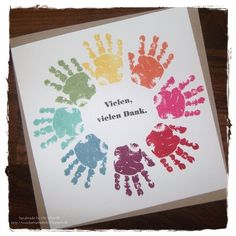 Vielen Dank - baby prints - love the bright colours, great for a toddlers birthday