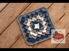 Isn't This Crocodile Stitch Flower Square Jaw-Dropping? [Free Pattern] - Page 2 of 2 - Knit And Crochet Daily