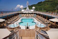 Voyager, Pool Deck #croisiere #regent http://www.seagnature.com/compagnies.php?idcie=18