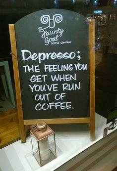 Great looking coffee shop #chalkboard