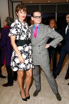 Helena Christensen and ,[object Object],'s Hamish Bowles