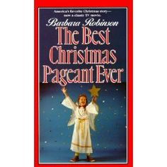 The Best Christmas Pagent Ever, seriously one of the best Christmas books/movies ever. If you find it, read it! (or watch it)