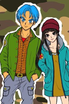 Mai and Trunks Dbz, Dragon Ball Z, Mai Chan, Trunks And Mai, Special Characters, Fictional Characters, The Breakfast Club, Anime Manga, Superhero
