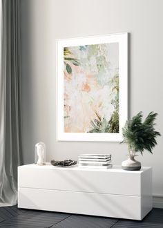 BRUSH STROKES NO. 4 - buy illustrations art prints online store #art #prints #printshop #printsforsale #bedroomprints