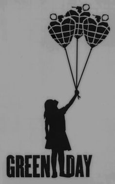 I would probably get the girl tattooed somewhere. This would be a good companion tattoo to the other Green Day girl with balloon thing.
