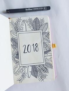 It& worth getting lost a little on January right? Bullet Journal Inspo, Bullet Journal Tumblr, Bullet Journal Lettering, Bullet Journal 2018, Bullet Journal Aesthetic, Bullet Journel, School Notes, Journal Covers, Letters