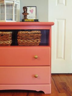 Finding Fabulous: Trash to Treasure Ombre dresser!