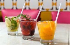 Receita de Coquetel de Frutas e Vodka