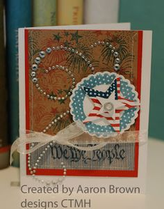 Home of the Brave - available only through the end of July - donation made to USO - Booth #32