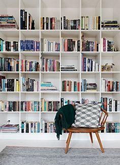 Bookcase inspiration | @styleminimalism
