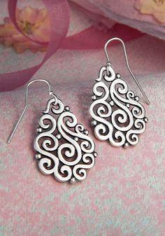 Open Sorrento Ear Hooks from James Avery Jewelry #JamesAvery