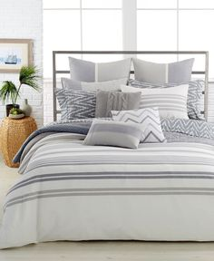 Nautica Home Margate Twin Duvet Cover Mini Set - Bedding Collections - Bed & Bath - Macy's