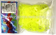 http://www.rainbowloom.com/product/neon-yellow-silicone-means-strong-courage-confidence-determination-hope-survival.html