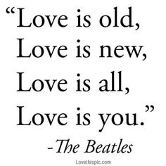 Love is you love the beatles song lyrics song lyrics music lyrics