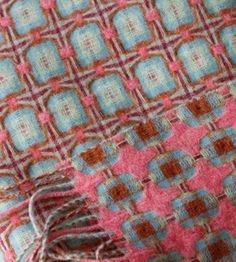 handwoven blanket.