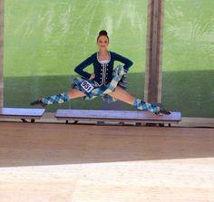 Erin Blair leap at Cowal.