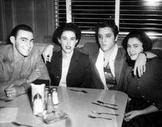 Elvis und das Gesangstrio der Country Musik The Browns