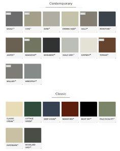 Colourbond/roofing- Monument & paperbark?