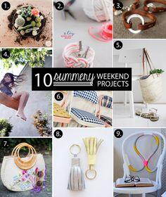 Poppytalk: 10 Summery Weekend Projects!