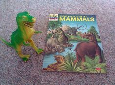 Prehistoric Mammals/ How and Why Book / T Rex by Lauralous on Etsy