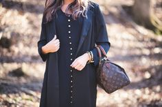 """""""@stashhbg retro classic style gives today's trends the perfect authentic edge▶link in bio. @rachelgrossphoto #whatiwore #style #black #chic #stash…"""""""