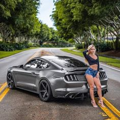 Mustang Girl, Ford Mustang Shelby, Sexy Cars, Hot Cars, Trucks And Girls, Pony Car, Hot Bikes, N Girls, Car Ford