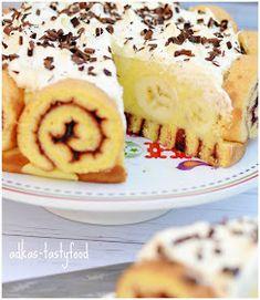 .. chute a vône mojej kuchyne...: Banánová torta slimáčiková Cheesecake, Pudding, Make It Yourself, Food, Cheesecakes, Custard Pudding, Essen, Puddings, Meals