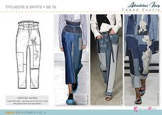 Spring Summer 2018 DENIM Trend Forecast Directions