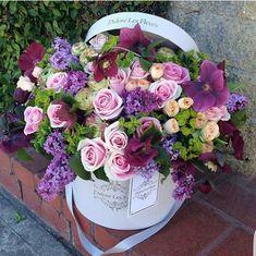 Beautiful Flower Arrangements, Floral Arrangements, Amazing Flowers, Beautiful Flowers, Flowers For Algernon, Bouquet Box, Happy Birthday Flower, Box Roses, Luxury Flowers