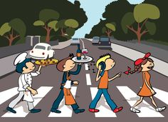 Marília Abbey Road #Beatles