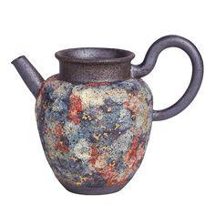 """Yan Kuang"" (Rock Ore) Pitcher 220CC, Fully Handmade Chinese Tea Set, Mud, Rock, Handmade, Gifts, Hand Made, Presents, Skirt, Locks"