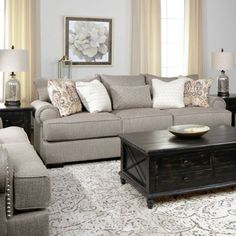 Turn your living room into a comfortable and stylish space with affordable furniture from Jerome's. Cheap Living Room Sets, Cozy Living Rooms, Home Living Room, Living Room Furniture, Living Room Designs, Living Room Decor, Salons Cosy, Living Room Remodel, Affordable Furniture