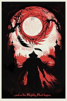Bloodborne: And So The Nightly Hunt Begins… - Gibbs Rainock