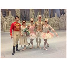 First Soloist Yasmine Naghdi (to the right), The Royal Ballet , as Sugar Plum Fairy