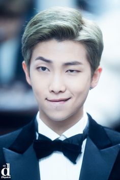 WHAT THE HECK NAMJOON?! GAAAAAAAH HE LOOKS SO GOOD.