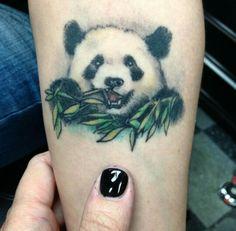 Panda tattoo <3