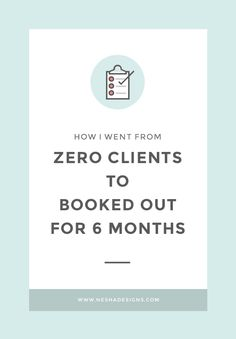 How I went from zero clients  to fully booked for  six months — Nesha Designs - Tap the link now to Learn how I made it to 1 million in sales in 5 months with e-commerce! I'll give you the 3 advertising phases I did to make it for FRE