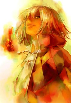 Howl - Howl's Moving Castle Don't know who made this, but it's lovely :)