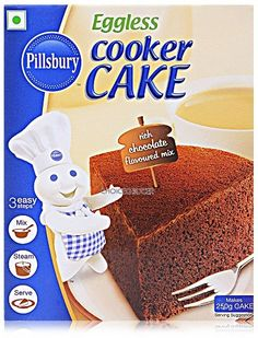 Eggless Cooker Cake, Pillsbury, General Mills, Inc. One General Mills Boulevard Golden Valley, Minnesota, U.S. and the J.M. Smucker Company, Orrville, Ohio, United States.