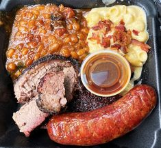 Prime Barbecue, Knightdale - A newer option for fantastic beef brisket, smoked sausage and barbeque rice. Enjoy these eats on their great covered patio... Smoked Beef Brisket, Beef Ribs, Smoking Meat, Baked Beans, Coleslaw, Pulled Pork, Pot Roast, Fried Chicken, Barbecue