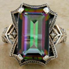 ANTIQUE VICTORIAN STYLE .925 STERLING SILVER RING SIZE 6
